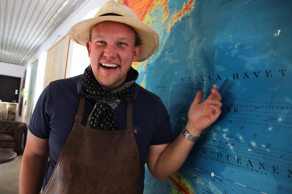 Höst på kartan hos Karl Fredrik