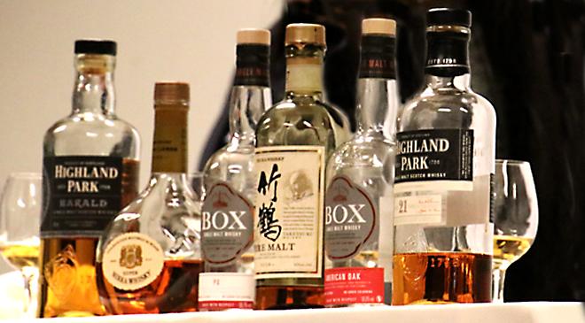 Starkt startfält i whiskylandskamp