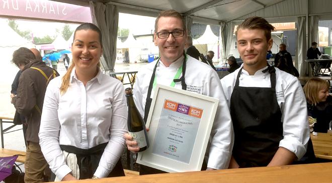 Tupp i topp på Skånes Matfestival