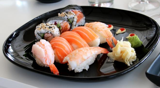 Sushi med mera på menyn i Simrishamn