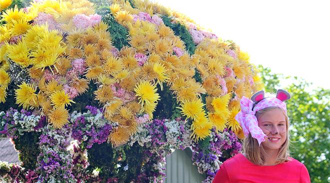 Bäddat för blomsterfest i Skåne Tranås