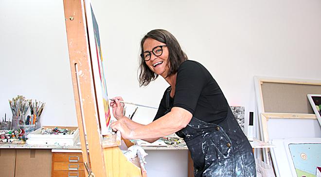 Jennifer Saxell ställer ut på Gallery M1, Malmö
