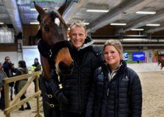 Peder och Steffi laddade för leverans i Göteborg
