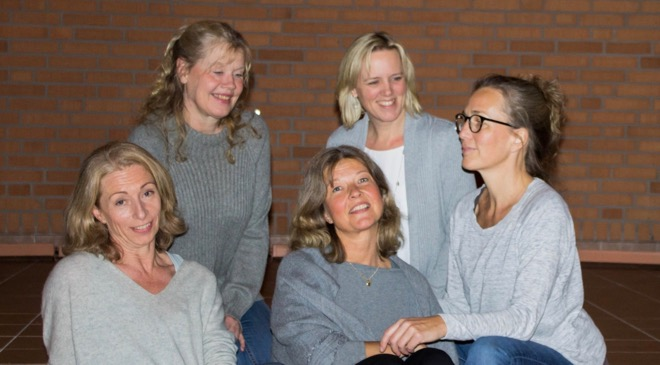 Kören FiveLive i hyllning till Hasse & Tage