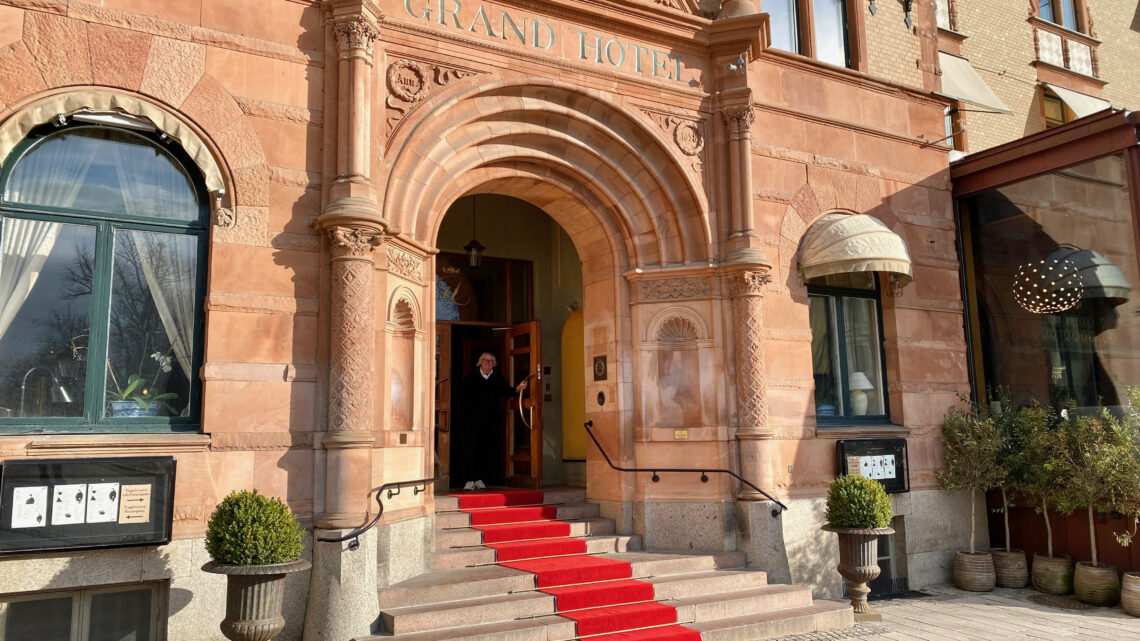 Gott om plats – Grand Hotel