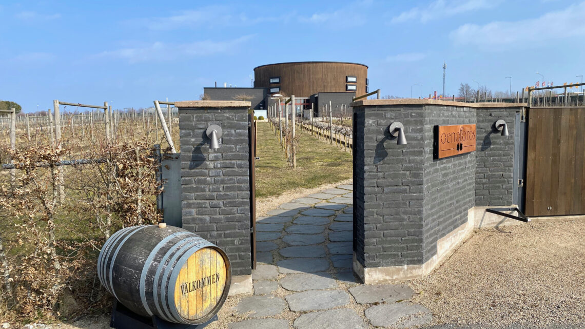 Gott om plats – Nordic Sea Winery